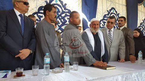 Photo of إنهاء خصومة ثأرية بين عائلتين بقرية العزب مركز الفيوم