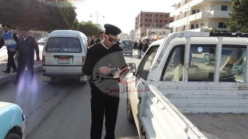 Photo of حملة مكبرة بالجيزة لتحقيق الانضباط المروري والحد من حوادث الطرق
