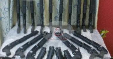 Photo of ضبط 7 أشخاص بحوزتهم أسلحة نارية فى محافظة قنا