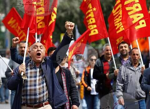 "Photo of إشتباكات بين الشرطة والمتظاهرين ""بإسطنبول"""