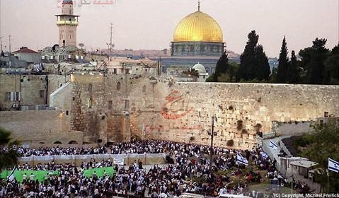 """"""" فلسطين تغضب من تصريحات ملكية حائط البراق للصهاينة """""""