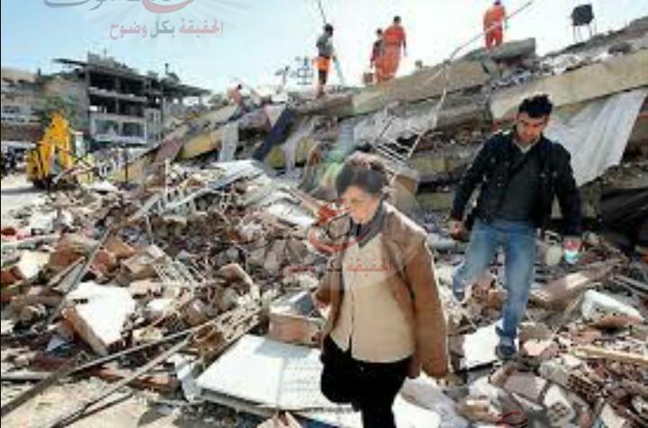 """قتلى ومصابين إثر زلزال يضرب جزيرة """"يونانية """"وتركية ."""