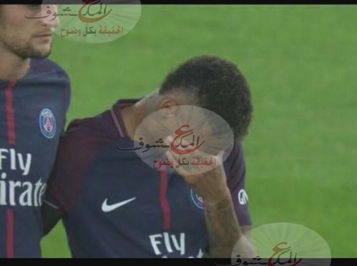"Photo of "" نيمار "" يبكي قبل إنطلاق المباراة ضد "" تولوز """
