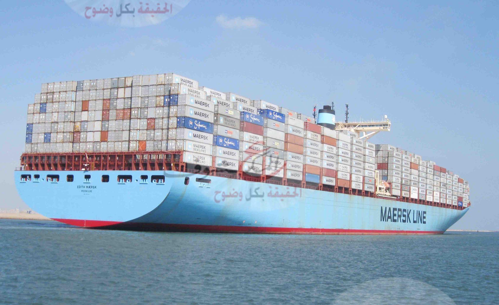 ميناء دمياط استقبل سفينتي حاويات و 5 سفن بضائع عامة اليوم