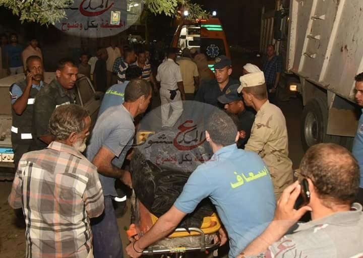 """تزايد ضحايا عقار """" الأسكندرية """" المنهار"""
