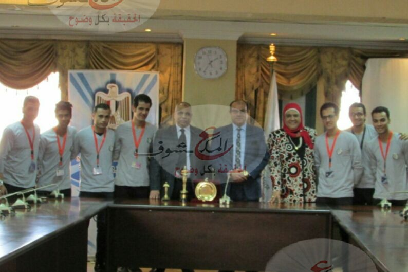 تكريم وزارة الشباب والرياضة لفريق إبداع للفنون الشعبية بمركز شباب قليوب