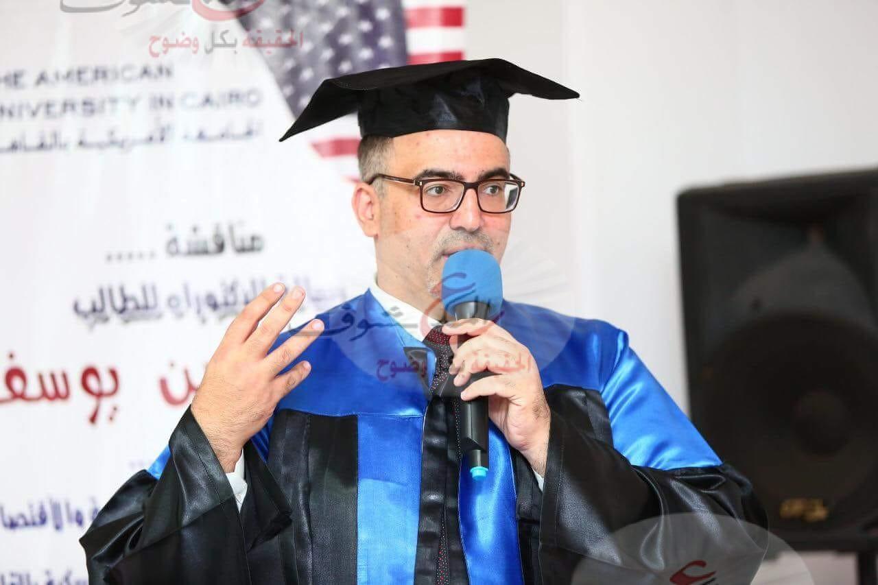 """حاتم حسن سفير الاتحاد الدولي للطهاة العرب يحصل على الدكتوراه في """"ثقافة الطعام والتنمية السياحية"""" بالقاهرة"""