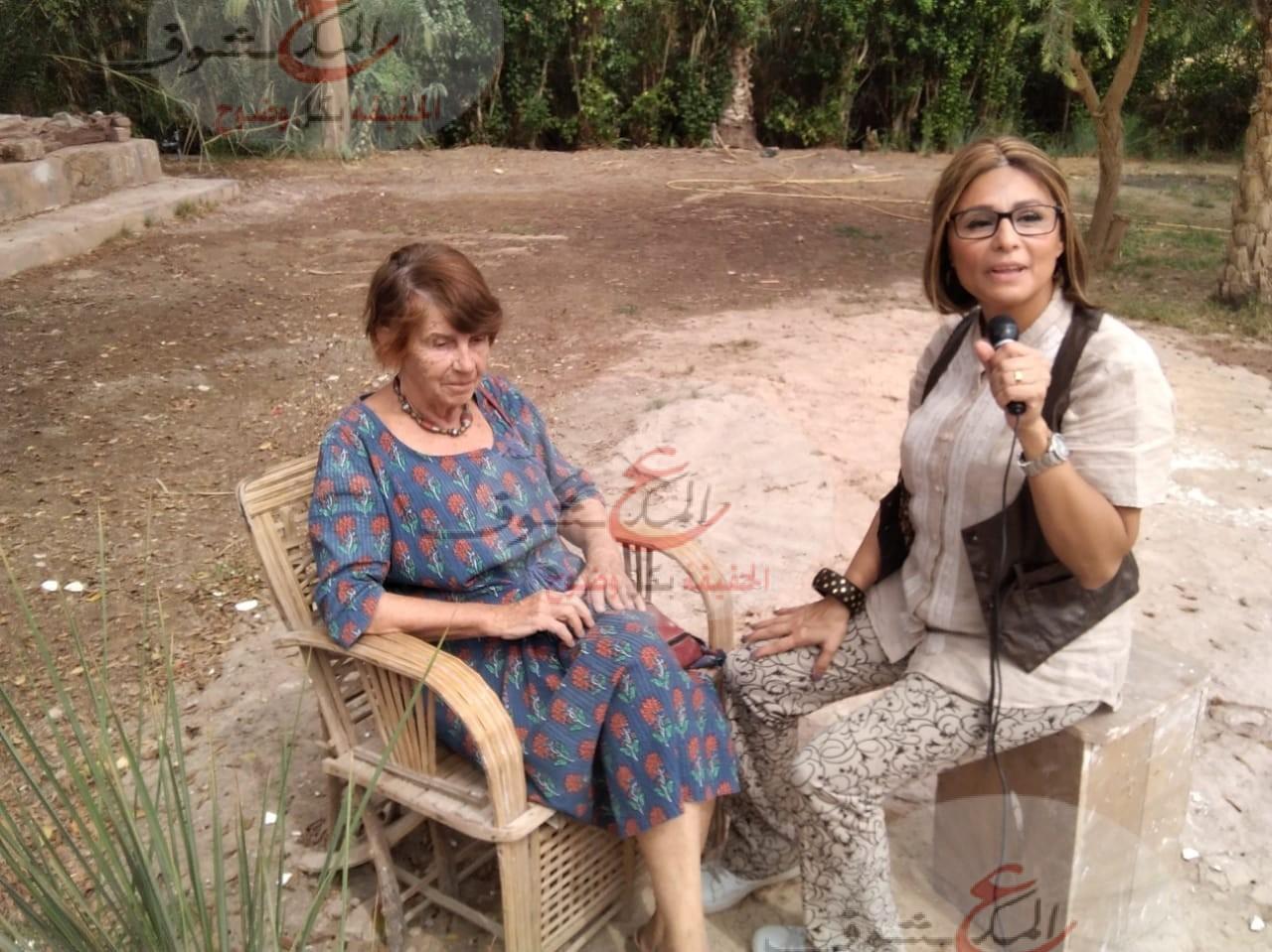 الإعلامية ريم الشافعي تقدم برنامج مصر قريبة على الفضائية المصرية