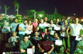 نادي جمارك إسكندرية يتوج بالمركز الثاني في بطولة الجمهورية للشواطئ بجمصة.