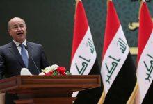"Photo of حملة توقيعات لإقالة رئيس العراق بتهمة ""الخيانة"""